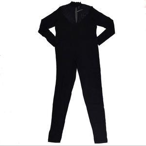 ASOS Curve Black Jumpsuit